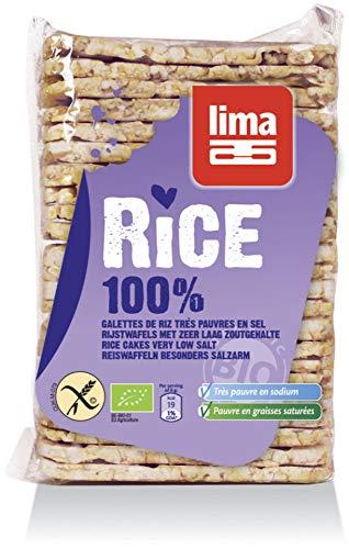 Lima Bio Dünne VK-Reiswaffeln ohne Salz (2 x 130 gr)