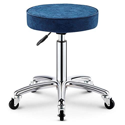 WangXN Salon kruk bar draaistoel, kunstleer manicure tattoo spa stoel draaistoel Pub barkruk hydraulische gasveer in hoogte verstelbaar