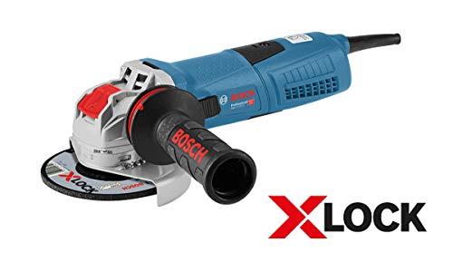 Bosch Professional 060179F002 Miniangolare, 1300 W, Blu (Bleu)
