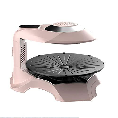Rookvrije elektrische grill • grill • grill • 1500 Watt • infrarood halogeen verwarmingselement • rook- en vetvrij grillen • eenvoudige reiniging • Roze