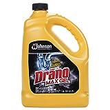 Drano 696642 Max Gel Clog Remover, Bleach Scent, 128 oz Bottle