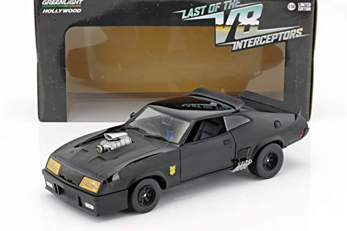 Greenlight Ford Falcon XB Baujahr 1973 V8 Interceptor Film Mad Max (1979) schwarz 1:18