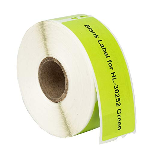 """HOUSELABELS Compatible DYMO 30252 Green Address Labels (1-1/8"""" x 3-1/2"""") Compatible with Rollo, DYMO LW Printers, 1 Roll / 350 Labels per Roll Photo #3"""