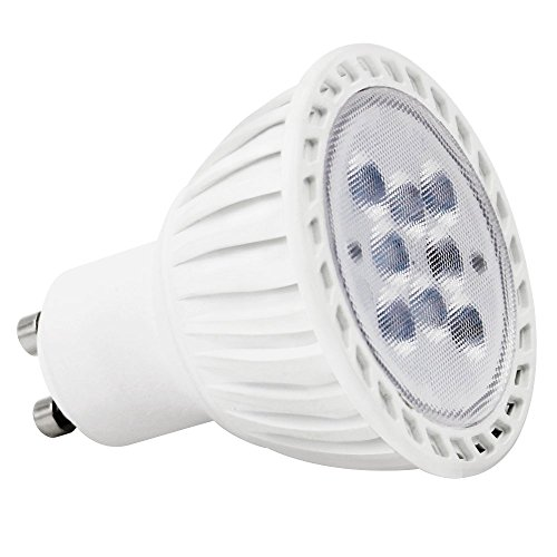 TORCHSTAR MR16 GU10 LED Light Bulb, 7W (60W Equivalent), 5000K Daylight, 36° Beam Angle, 500Lm, UL-Listed, Track Lighting, Recessed Light, 2 Years WARRANY, Non-Dimmable