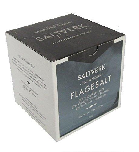Isländisches Fjordsalz Natur Sea Salt Flakes Meersalz 250 g