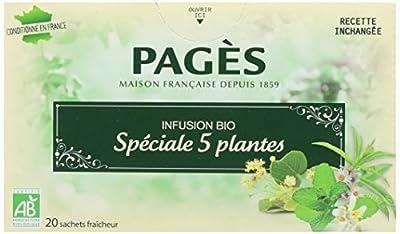 Pagès Infusion Spécial 5 Plantes Bio 20 sachets parent
