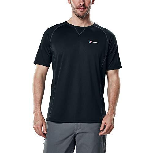 Berghaus Technique 2.0 T-Shirt Manches Courtes Homme Black/Black FR : S (Taille Fabricant : S)