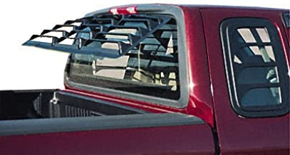 Willpak Industries 6060 ABS Classic Style Design Truck Rear Window Louver for GM/Chevrolet