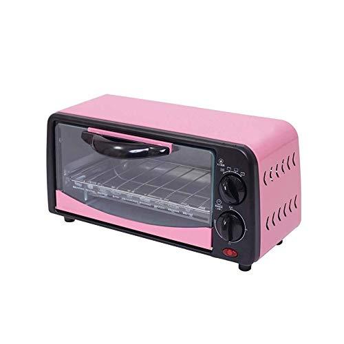 HEMFV Extra Wide Convection Countertop 6L Haushalt Toaster Inklusive Bake Pan Broil-Rack-Edelstahl-Material mit 15 Minuten Timer Backen Schnelle Heizung Keine Notwendigkeit zu warten
