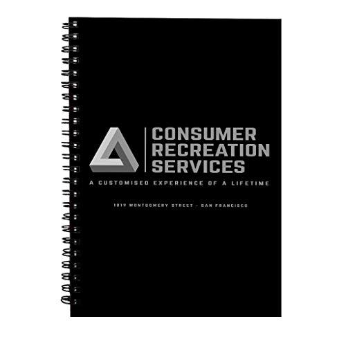 Consumenten Recreatie Diensten Het Spel Spiraal Notebook