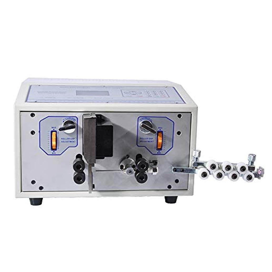 別に予測子実質的にHanchen SWT508-D 電動ワイヤーストリッパー 全自動卓上ケーブル剥線機 0.1-6mm適用 電線の被覆剥がし/カット/切断 スムーズに剥ける 業務用 工業用 電線皮剥き機 (110V)