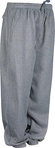 Harvies Kleding Heren Fleece Jogging Bottoms Gesloten Hems Elastische taille Broek
