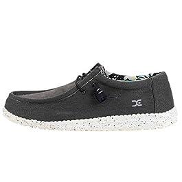 Dude Shoes Dude Wally Stretch Black UK8 / EU42