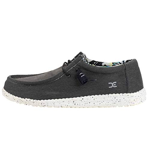Dude Shoes Dude Wally Stretch Black UK8 / EU42