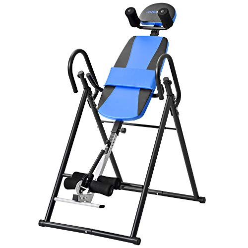 HYD-EQUI Foldable Inversion Table Back Therapy Fitness Back Pain Relief, Adjustable Folding Therapy...