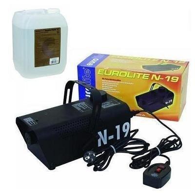 Eurolite N-19 Nebelmaschine schwarz + 5L -C- Fluid