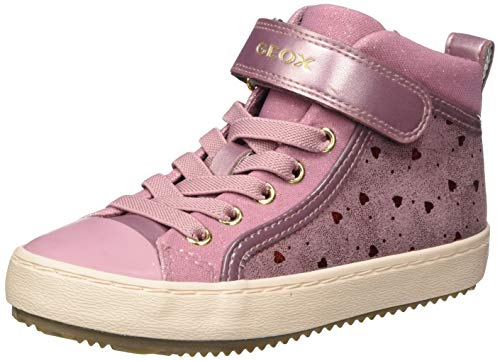 Geox Mädchen J Kalispera Girl I Sneaker, (Dk Pink), 31 EU