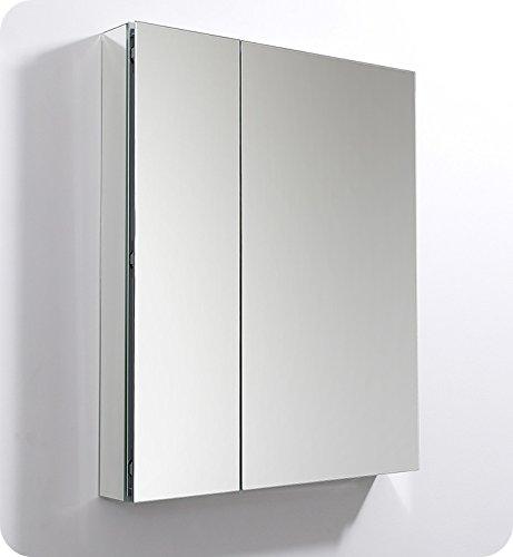 Fresca 30' Wide x 36' Tall Bathroom Medicine Cabinet w/Mirrors