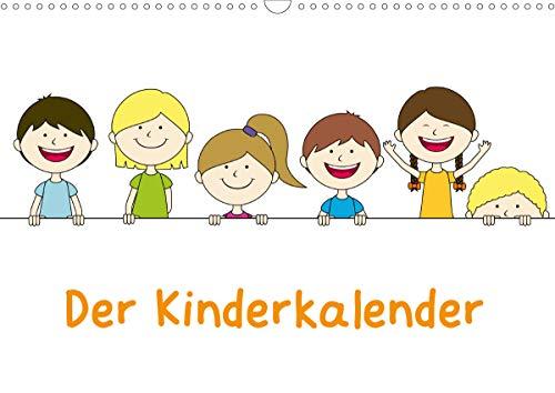 Der Kinderkalender (Wandkalender 2021 DIN A3 quer)