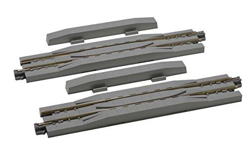 ユニトラック リレーラー線路 124mm 2本入り 品番:20-026