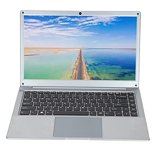 Computadora portátil, computadora portátil FHD de 14 pulgadas, RAM 12GB ROM 128GB, almacenamiento de extensión SSD, procesador Intel N4020, cámara web, Bluetooth, HDMI, WiFi, para Windows 10(gris)