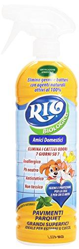 Rio-Detergente biológico para suelos y parqué para mascotas, 750 ml