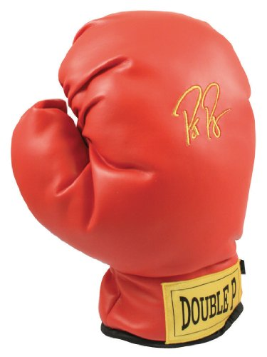 Guante de boxeo Pat Perez Winning Edge roja cubierta de palo de Golf