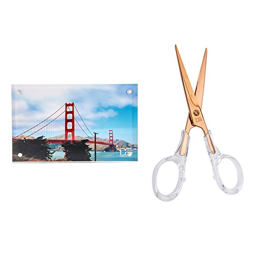 Draymond verhaal Rose gouden schaar en Premium acryl fotolijst(4x6