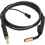 Happybuy 100Amp 10Ft Mig Welding Gun fit for Lincoln Welding Torch Stinger Replacement fit for Lincoln Magnum 100L (K530-6) fit 0.024-0.031 Inch Wire
