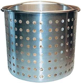 Winware ALSB-20 Professional Aluminum Steamer Basket Fits 20-Quart Stock Pot, Silver