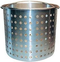 Winware ALSB-80 Professional Aluminum Steamer Basket Fits 80-Quart Stock Pot, Silver