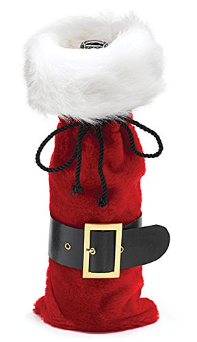 Santa Claus Belt Wine Bottle Bag