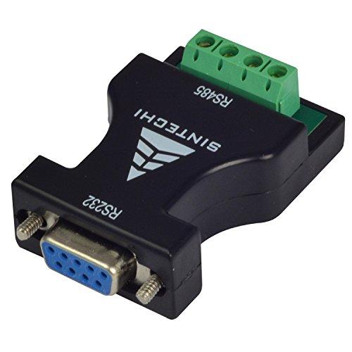 MENGS RS-232 zu RS-485 Schnittstelle RS-485 seriellen DB9 Anschluss Geräteadapter Konverter, der RS-232 Signal zu RS-485 symmetrischen Differenzsignal umwandeln kann