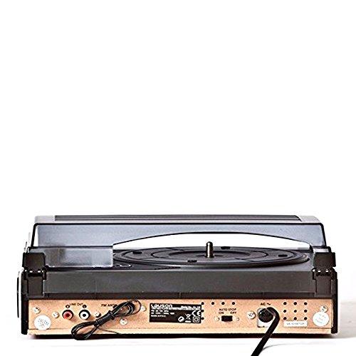 Lauson - Tocadiscos cl144 con Radio, USB Grabador y Bluetooth ...