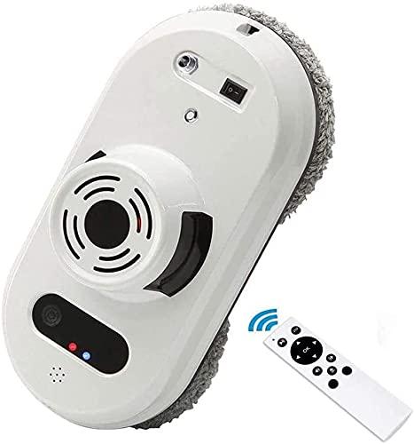WXking Limpiador de Ventanas Inteligente, Robot eléctrico automático de Limpieza de Ventanas con Control Remoto, Herramienta de Limpieza de Vidrio de Ventana anticaída para Interiores y Exteriores