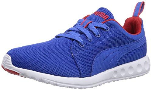 PUMA Carson Runner, Scarpe da Ginnastica Unisex – Adulto, Blu (05 Strong Blue-High Risk Red), 39 EU