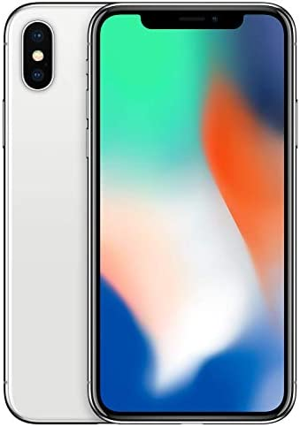 Simple Mobile Prepaid – Apple iPhone X (64GB) – Silver [Locked to Carrier – Simple Mobile]