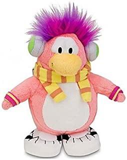 "Super RARE Cadence - Disney Club Penguin 6.5"" Plush Doll + Coin to Unlock 2 Treasure Book Items of Your Choice!"
