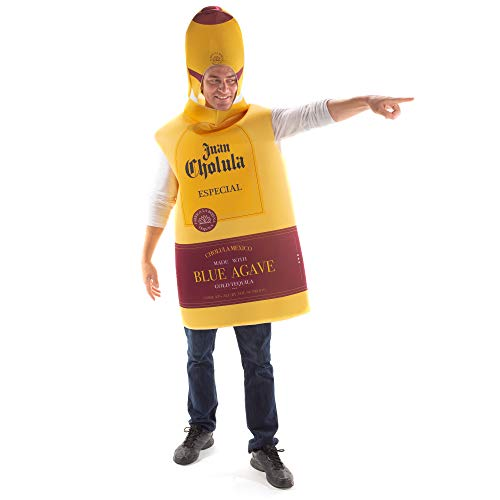 Top Shelf Tequila Costume - Funny One-Size Unisex Halloween Adult Drink Suit
