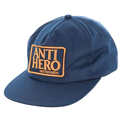 Anti Hero Skateboards Hat Reserve Patch Snap Back Navy
