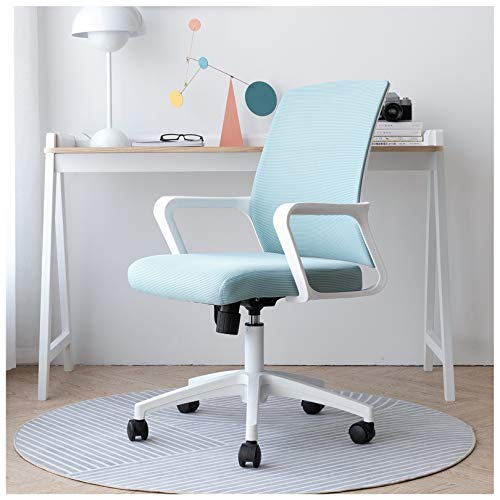 Ergonomic Office Desk Chair with Latex Layer + Sponge Layer Cushion Mesh Seat, Swivel Computer Executive Chair for Office,Home, Bedroom