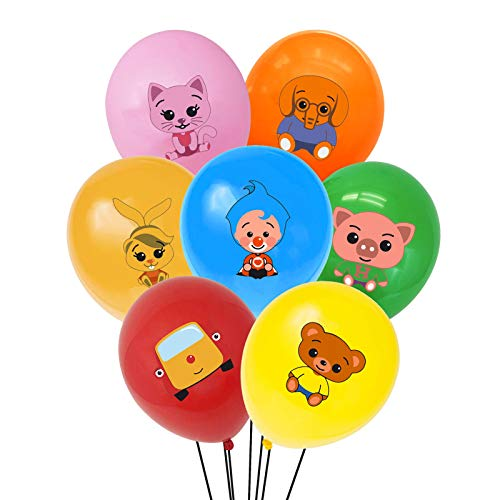 """TUWUNA Plim Plim Party Supplies 35Pcs Plim Plim Balloons 12"""" Latex Balloons for Kids Birthday Party Favor Supplies Decorations Perfect for Your Themed Party"""