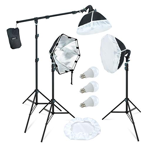 LINCO Lincostore Photography Studio Lighting Kit Arm for Video Continuous Lighting...