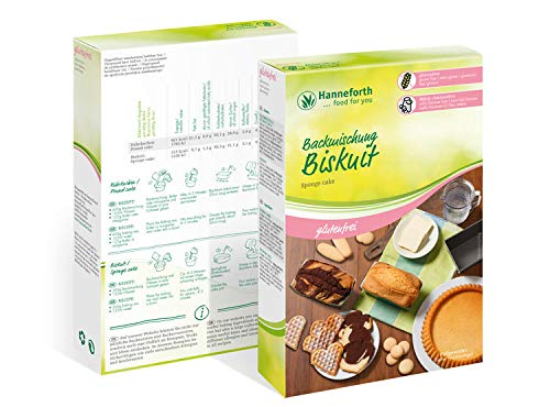 Glutenfreie Biskuit Backmischung – 3x300gr