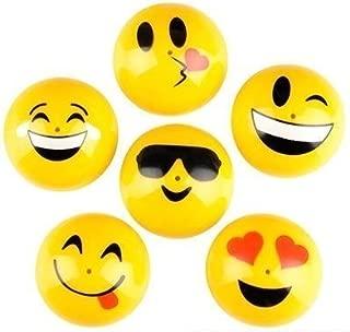 Rhode Island Novelty 1.75 Inch Emoji Face Smile Emoticon Poppers 1 Dozen, 12 Pieces
