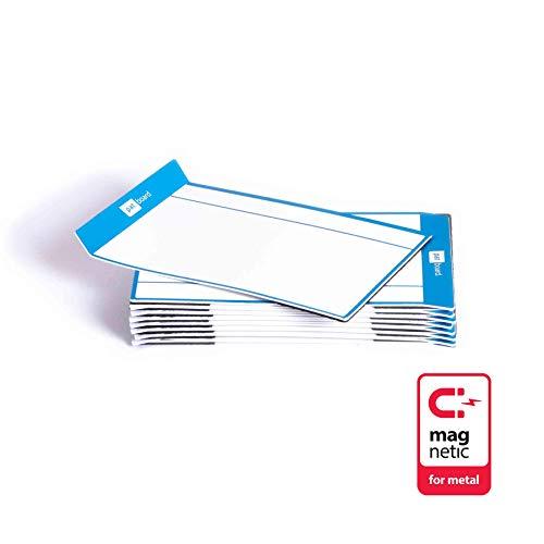 PATboard Scrum Board und Kanban Tafel TASKcards - 16 Magnetische Haftnotizen - Blau