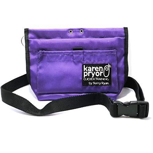 Terry Ryan Karen Pryor Clicker - Bolsa de deporte para golosinas, color morado