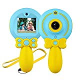 SUNNYPIG Gift for 3-12 Year Old Boys Kids, Digital Camera Toy for 3-12 Year Old Girls Children Videocamera Toy Gifts Age 5 6 7 8 9 Boy Girl Birthday Gift for 4-10 Year Old Girl Kid Blue Camera