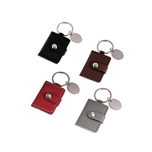 Hama Trendy Schwarz, Braun, Grau, Rot–Tasche (schwarz, braun, grau, rot, Kunstleder, 35x 45mm)