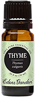 Edens Garden Thyme Essential Oil, 100% Pure Therapeutic Grade (Inflammation & Pain) 10 ml